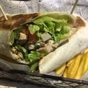 Veggie and Vegan Burrito